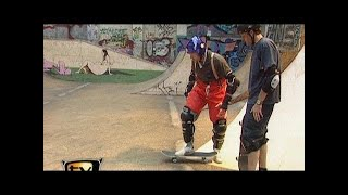 Scate with Tony Hawk - Raab in danger - TV total