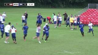 WUGC 2016 - Japan vs Great Britain Mixed