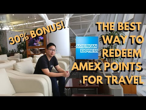 The BEST Way To Use Amex MR Points For TRAVEL