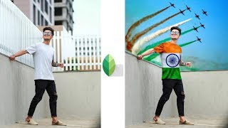 Snapseed Amazing 15 August Photo Editing 2019 | Best Independence Day Photo Editing | Snapseed App screenshot 2