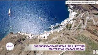 Görögországba utaztatják ki a legtöbb magyart az utazási irodák