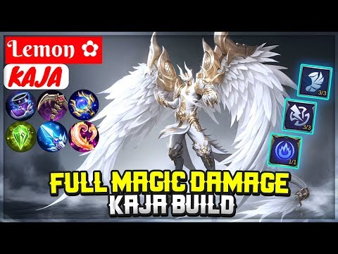 Kaja Full Magic Damage Build [ Lemon ✿ Kaja ] Mobile Legends