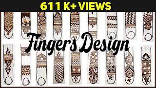 Mehndi For Beginners   Basic Fingers Mehndi Design Step By Step   Mehndi Tutorials   Letstute screenshot 2