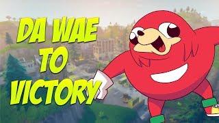 Da Wae to VICTORY in Fortnite - Fortnite Battle Royale