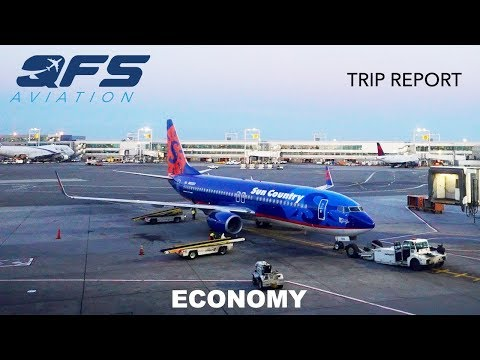 TRIP REPORT | Sun Country Airlines - 737 800 - New York (JFK) to Minneapolis (MSP) | Economy