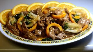 Stir Fry : Orange Beef ( Spicy Version )