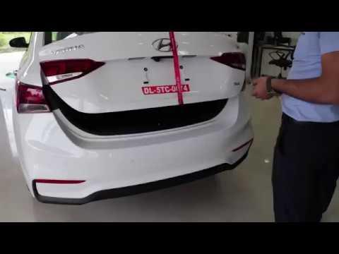 Hyundai Verna 2017- Boot Opening Feature By Smart Key