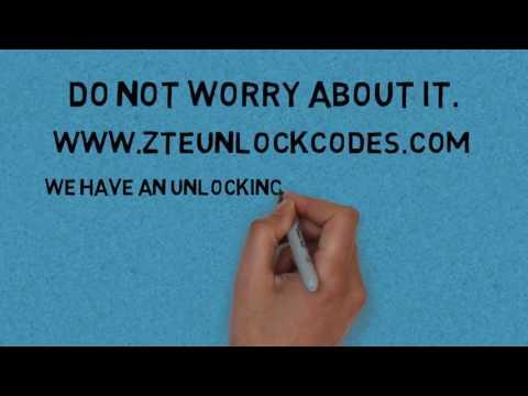 How to unlock ZTE GRAND X2 IN - ZTE unlock codes