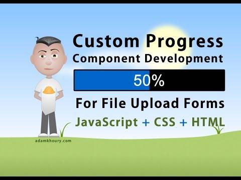 Custom Progress Bar Meter Development For File Upload Forms