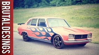 Peugeot 504 GL Virtual Tuning | GIMP