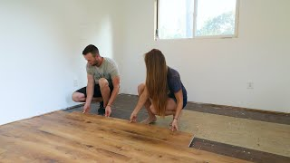 Covering Up Our SHIPPING CONTAINER FLOORS!