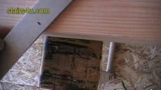 Framing Square Setup For Stair Stringer Layout