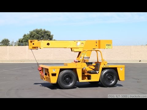 Broderson IC-80 Industrial Carry Deck Crane for Sale