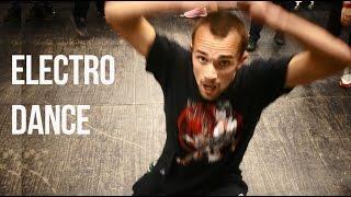 """Уроки танца для начинающих: electro dance (ex тектоник). Обучение """"с нуля""""."""