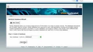 How to create a mysql database on cpanel