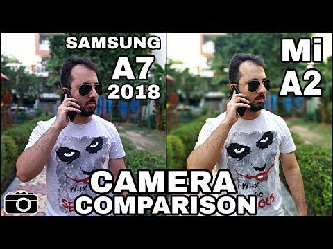 Samsung A7 2018 Vs Mi A2 Camera Comparison|Samsung A7 2018 Camera Review|Mi A2 Camera Review