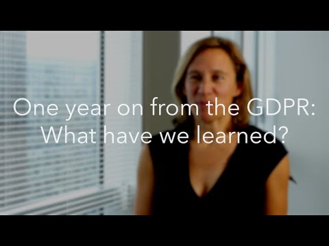 London Partner Gail Crawford On GDPR