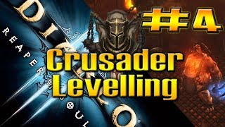 REAPER OF SOULS BETA / CRUSADER LEVELLING #4 by QELRIC (Diablo 3 Gameplay)