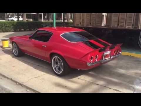 1970 Camaro RS Split Bumper For Sale YouTube