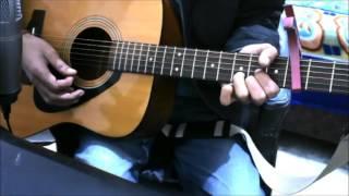 Naina Dangal Arijit Singh Guitar Cover Lesson Chords Easy Version