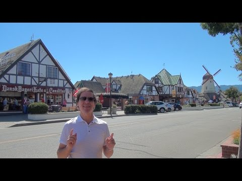 Solvang-A Taste of Denmark in Southern California! (With Danish Music)