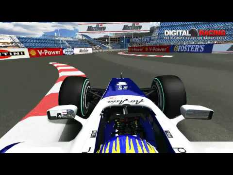 Digital-Racing.net F109 Hotlap Monaco 1:14.693
