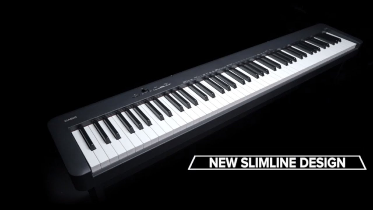 new compact digital piano by casio cdp s100 youtube. Black Bedroom Furniture Sets. Home Design Ideas