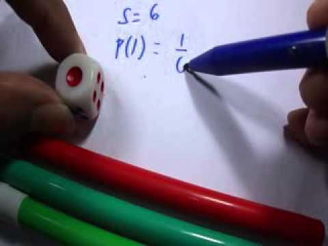 Teori Peluang Lemparan Dadu Matematika Smp Sma Youtube