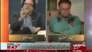 Dr. Shahid Masood and Hassan Nisar - The only good news for Pakistan in the entire year of 2011