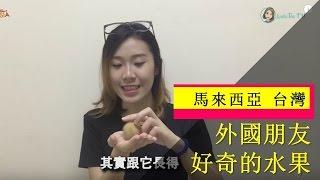【馬來西亞 台灣】外國朋友好奇的水果