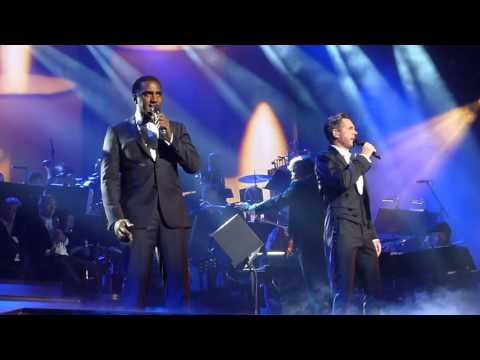 Norm Lewis and Peter Jöback,