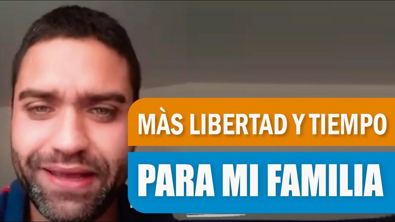 Encontré La Manera De Tener LIBERTDAD FINANCIERA Y MÀS TIEMPO PARA MI FAMILIA : Diego Romero