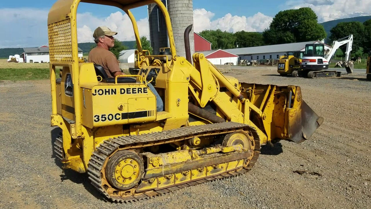 John Deere 350C Tracked Loader For Sale with 4/1 Multi Purpose Bucket!