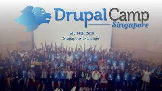 Opening by Organizer - DrupalCampSG 2018