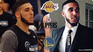 LiAngelo Ball Is Scheduled For Private Workouts With The Lakers, Clippers, & Warriors