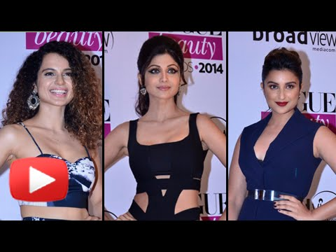 Parineeti Chopra, Shilpa Shetty, Kangana Ranaut Sizzle At VOGUE Beauty Awards - HOT OR NOT