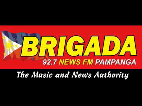 Brigada 92.7 News FM Pampanga Station ID