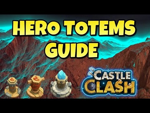 Castle Clash Hero Totems Guide!