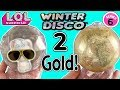 LOL Surprise Winter Disco DOUBLE GOLD! LOL Dolls, LOL Fluffy Pets + Lils!    LOL Doll Videos Pt 8