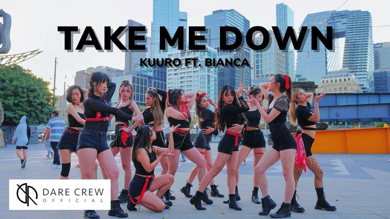 [DANCE IN PUBLIC] KUURO - Take Me Down (feat. Bianca) ALiEN Choreography Cover by DARE Australia