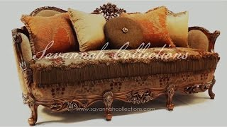 European furniture living room sofa by Savannah Collections karges