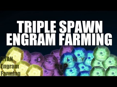 DESTINY LOOT CAVE 3.1 | ENGRAM FARMING | TRIPLE SPAWN TRAP
