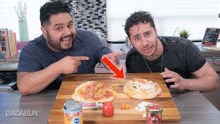 ► Cocinando y Probando La Pizza MAS ASQUEROSA del Mundo | El Guzii