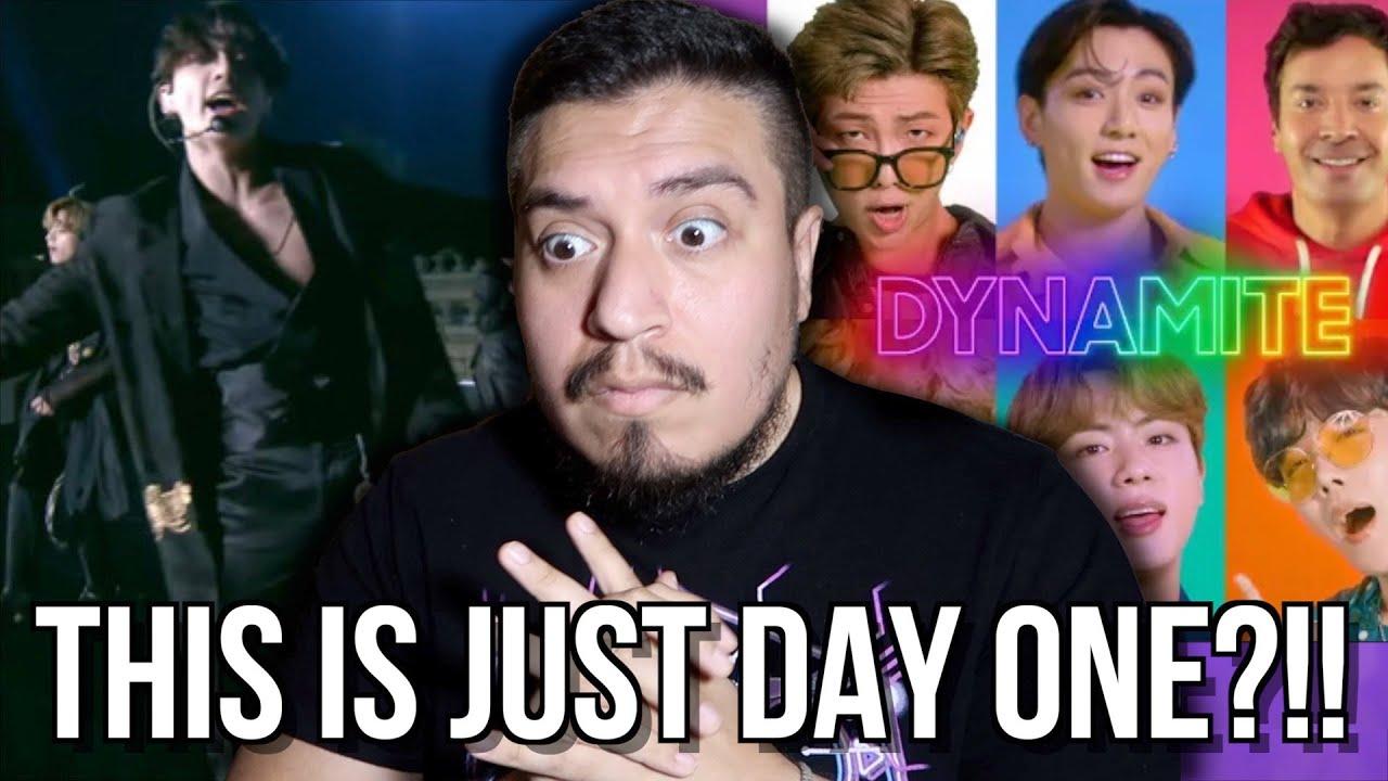Download BTS: Dynamite & IDOL REACTION [Tonight Show Jimmy Fallon]