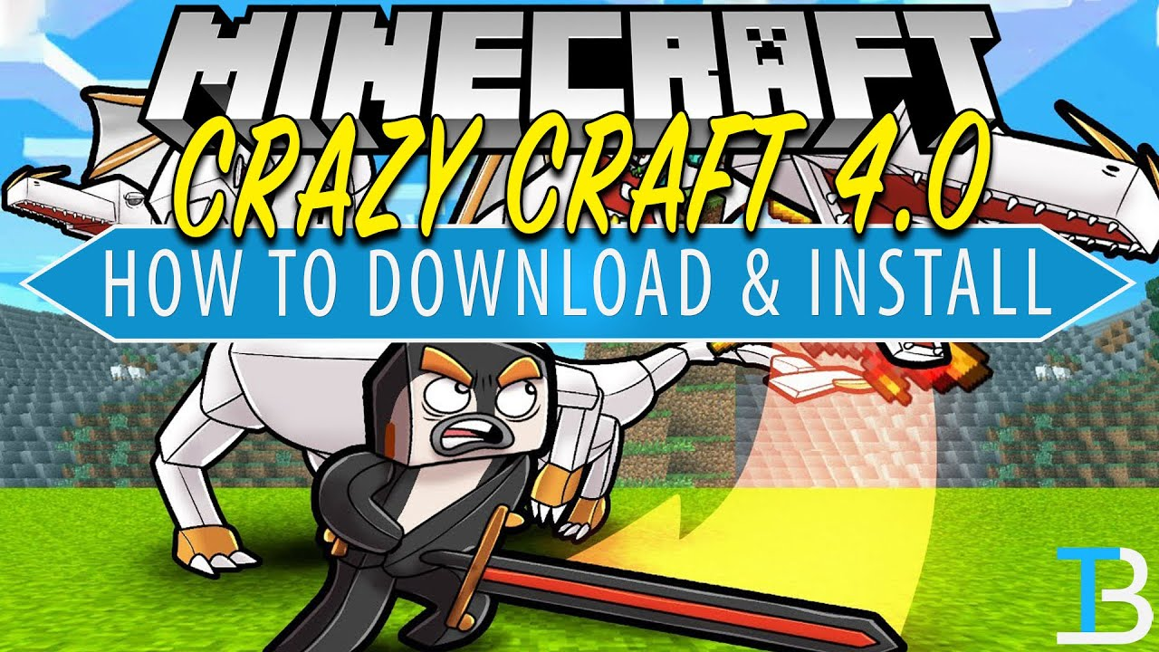 How To Download Install Crazy Craft 4 0 in Minecraft
