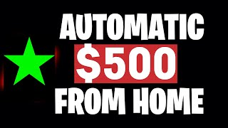 My #1 way to make money online: https://www.funnelfromhome.com/earn500 ryan hildreth (@ryan hildreth) explains how earn $500 from home automatically and m...