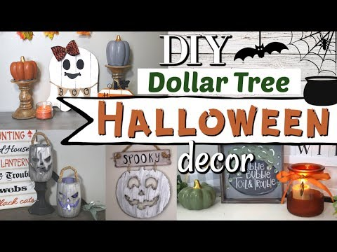DIY Dollar Tree Halloween Decor | Halloween Decor Ideas 2019 | Krafts by Katelyn