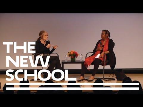 bell hooks & Gloria Steinem at Eugene Lang College