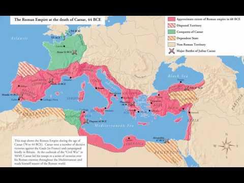 Roman History 09 - The Empire Of Caesar 50 - 44 BC