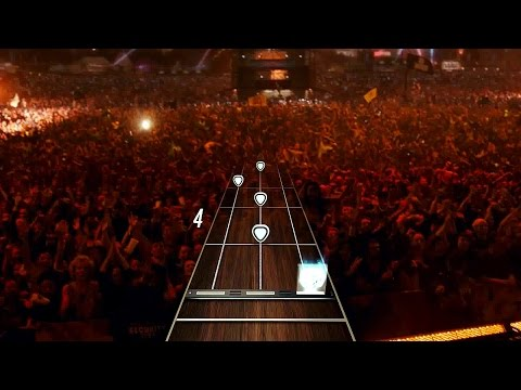 New Guitar Hero 2015 Gameplay - Gold On The Ceiling By The Black Keys